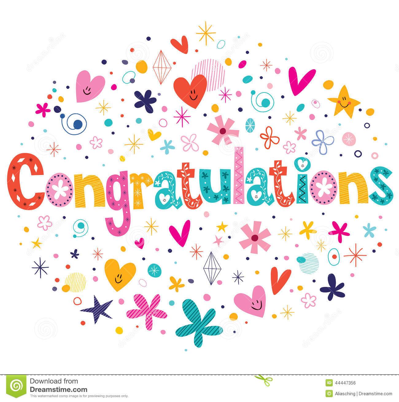 Stock Vector Congratulations Typography -Stock Vector Congratulations Typography Lettering Decorative Text-19
