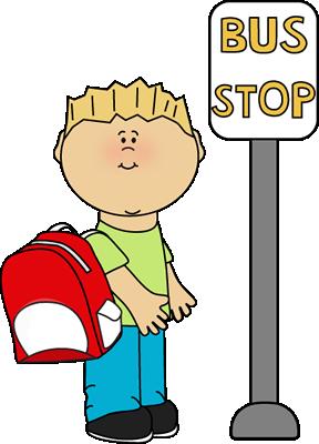 Stop And Wait Clipart Clipart Wait Wait For A Bus Clipart