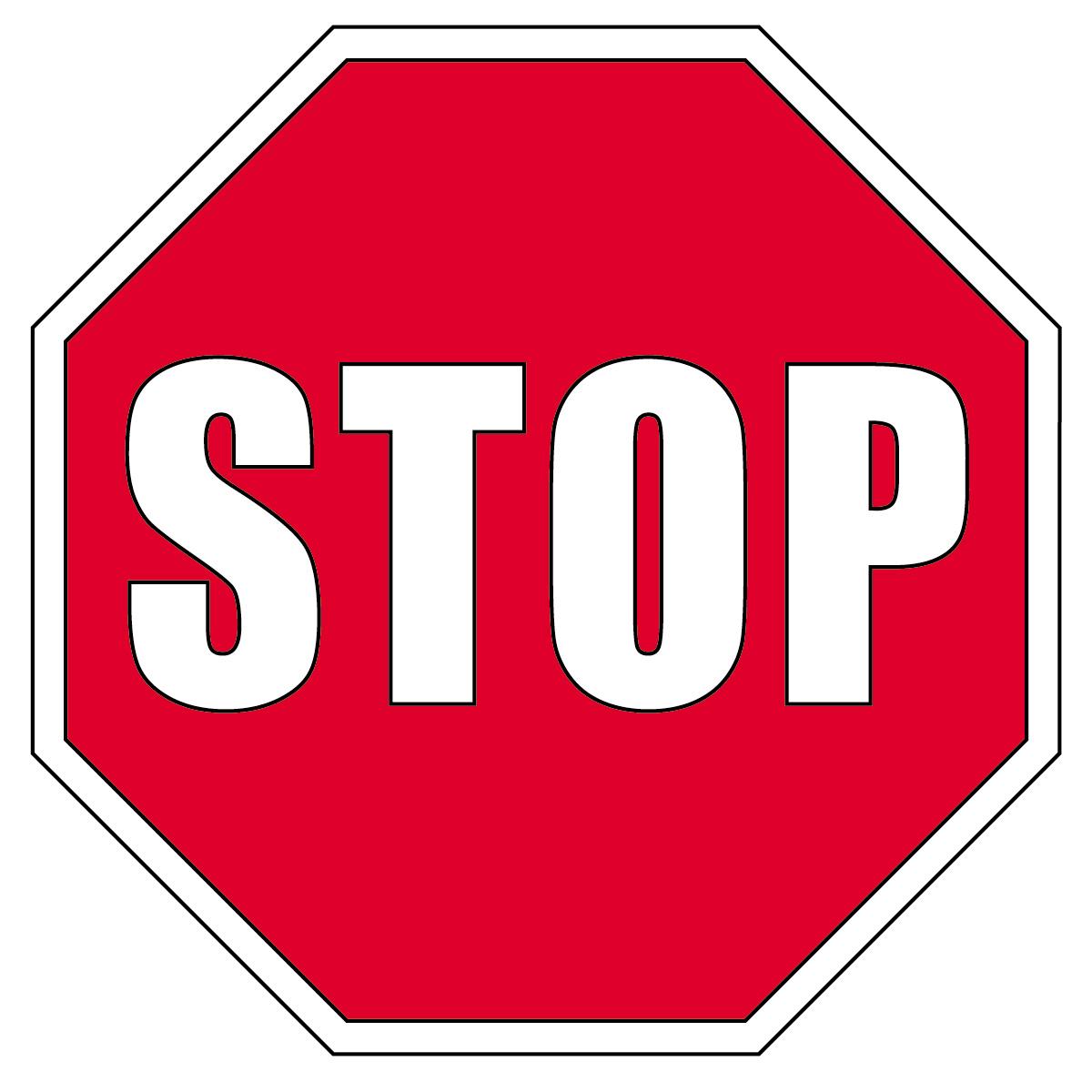 Stop Sign Clip Art 9 Clipart