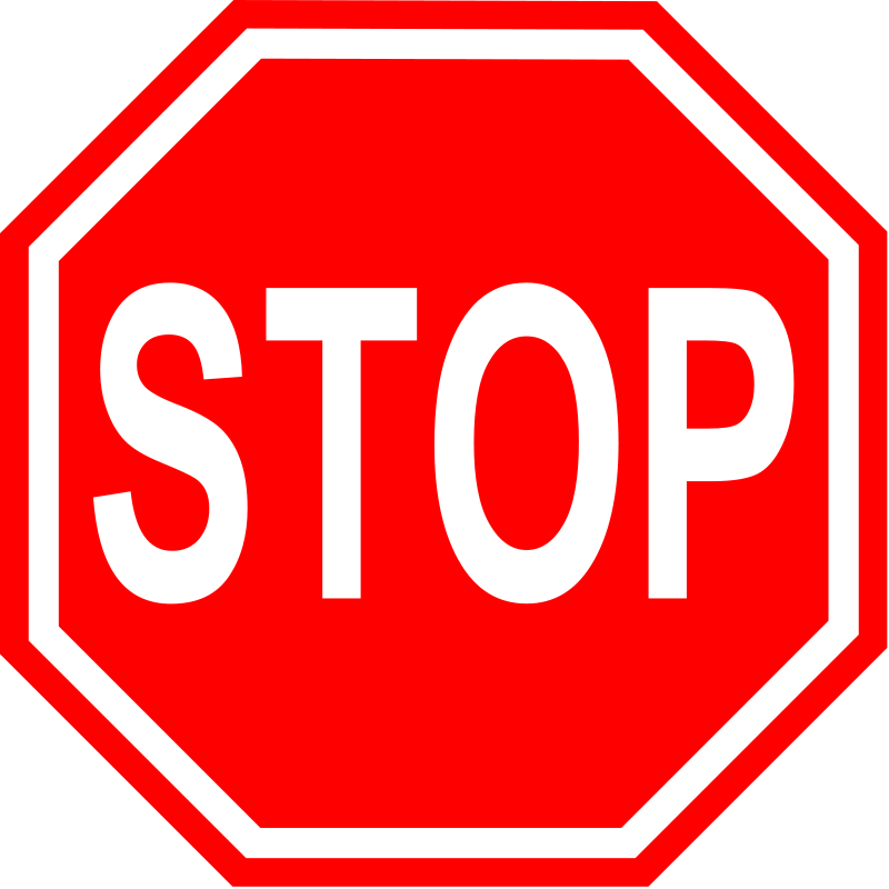 Stop Clipart
