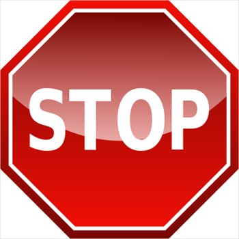 Stop Sign Icon-Stop Sign Icon-17