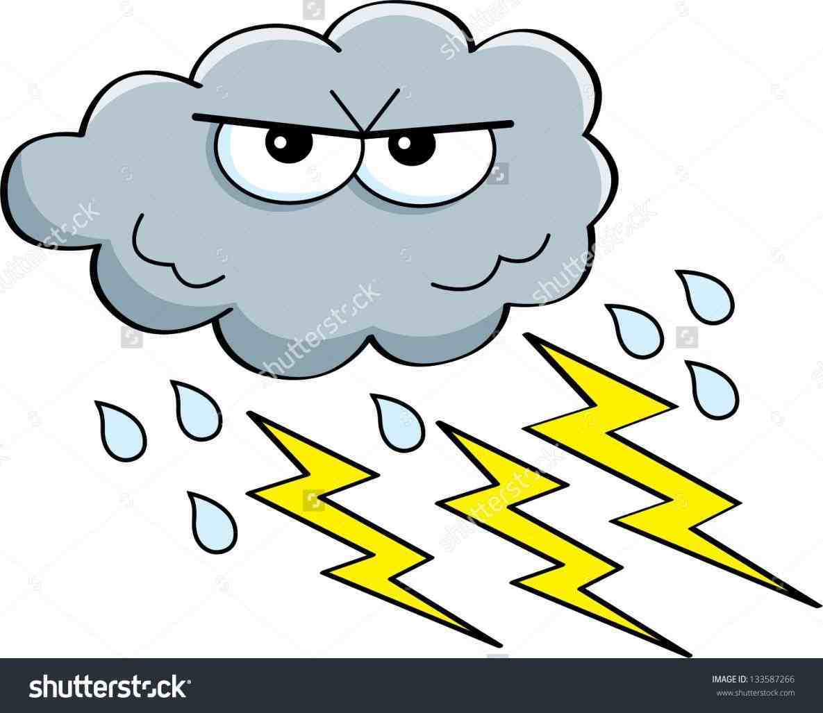 And In Color Lightening Lighting Storm C-And in color lightening lighting storm clipart clipart thunderstorm cloud  pencil and in color lightning storm-1