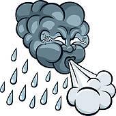 Storm Cloud With Thunderbolt; Storm Cloud