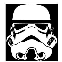 Stormtrooper Helmet Vector-Stormtrooper Helmet Vector-3