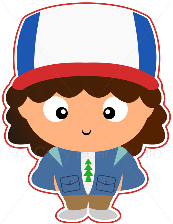Stranger Things Clipart - Dustin, Cute F-Stranger Things Clipart - Dustin, Cute Funko Pop, Gaten Matarazzo, Instant  Download, Invitation, Clipart, Birthday, Printable, Digital, PNG-12