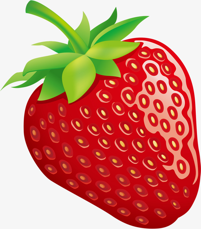 red cartoon strawberry, Cartoon Clipart, Strawberry Clipart, Red Strawberry  PNG Image and Clipart