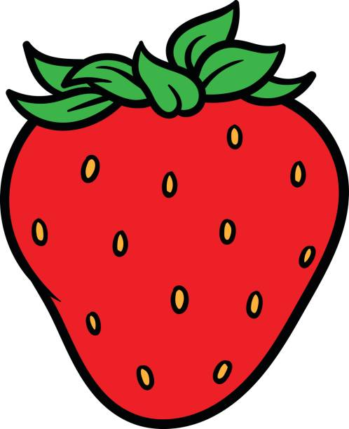 Stylist And Luxury Strawberry Clipart