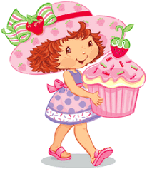 Strawberry Shortcake Clip Art Of