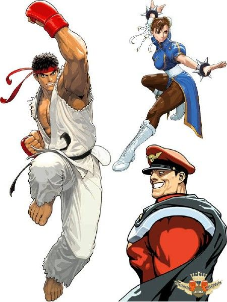 Street Fighter Clipart