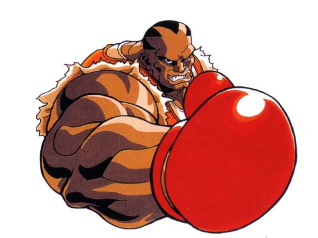 Street Fighter Clipart boxer
