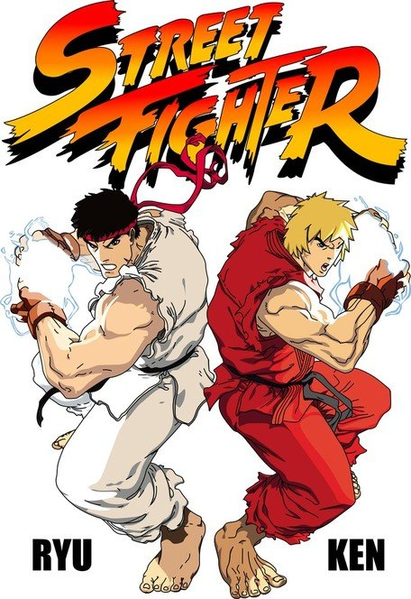 Street Fighter vektör kaynak - Street Fighter Clipart