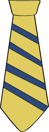Striped Yellow Tie