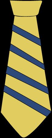 Striped Yellow Tie-Striped Yellow Tie-9