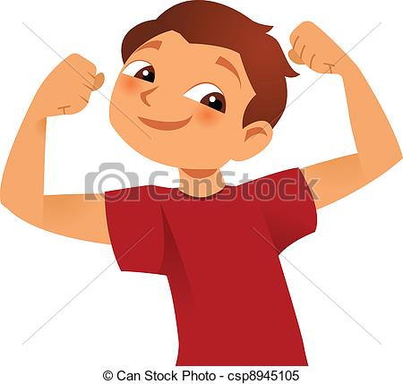 Strong Kid - Strong Kid Showing His Big -Strong kid - strong kid showing his big muscles-15