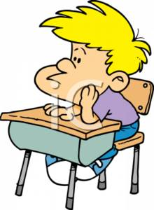 Student At Desk Clipart-student at desk clipart-8