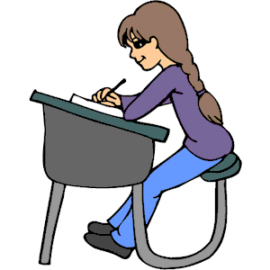 Student At Desk Clipart-student at desk clipart-9