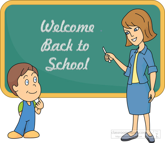 Student and teacher clipart - .