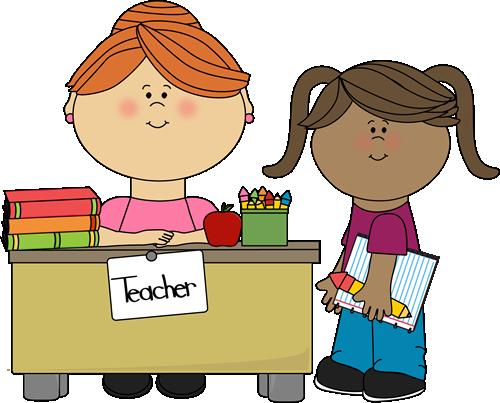Student at Teachers Desk-Student at Teachers Desk-2
