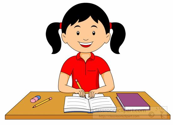 Student doing homework clipart FamClipart No homework clipart wikiclipart