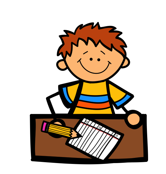 Student Images Clip Art - Students Working Clipart