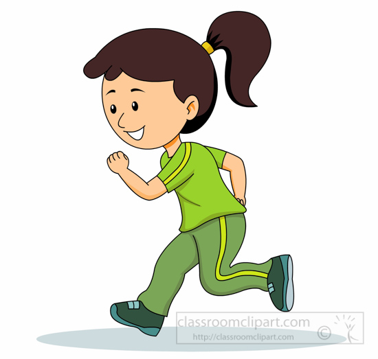 Student Jogging Running For .