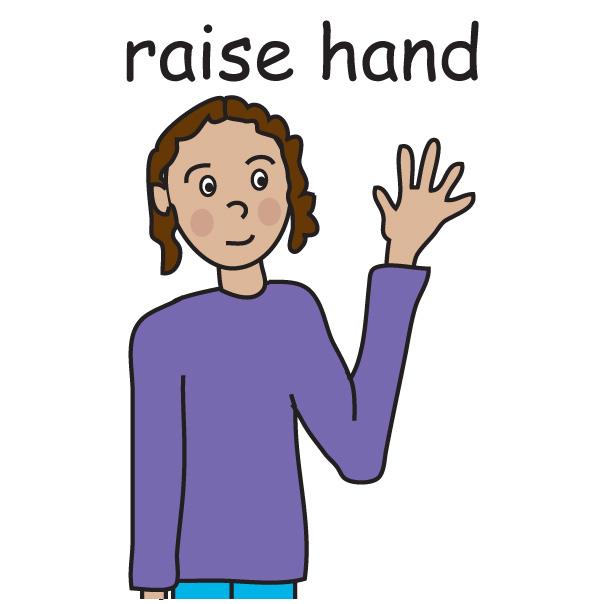 Student Raising Hand Clip Art-Student Raising Hand Clip Art-17
