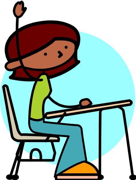 Student Raising Hand Clipart u0026middot; «