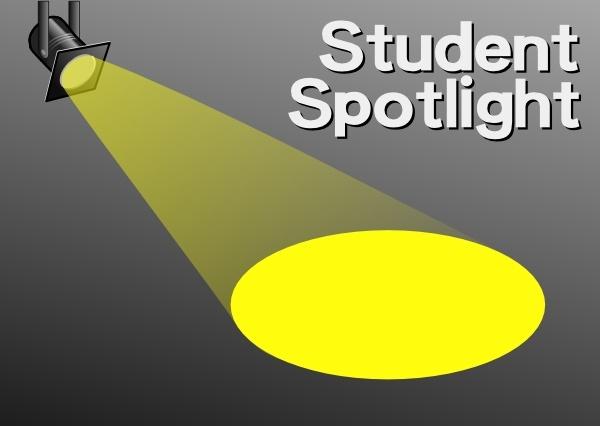 Student Spotlight clip art Free vector 120.03KB