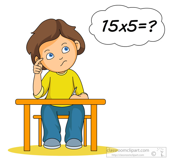 Student Thinking About Multiplication 17 Classroom Clipart