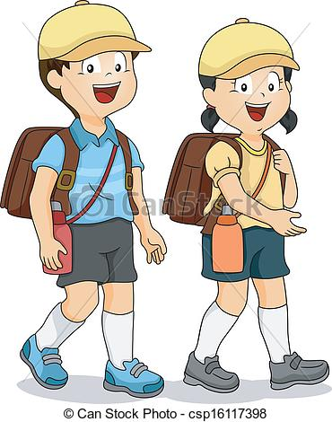 Students Walking In Line Clipart Fashionplaceface Com