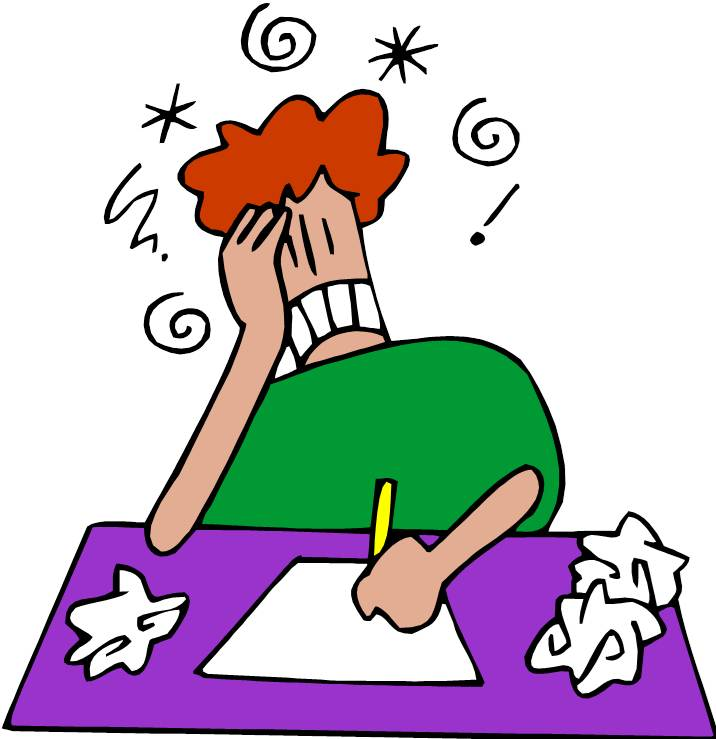 Frustrated Face Clipart
