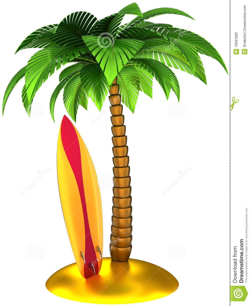 Stylized Palm Tree Clipart-Stylized Palm Tree Clipart-14