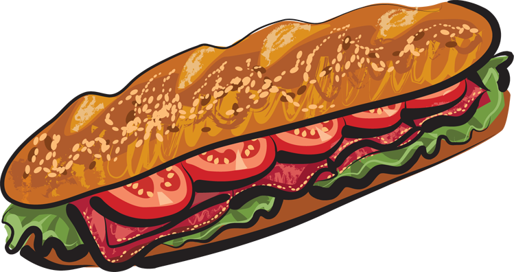 Sub Sandwich Cartoon Clipart Best-Sub Sandwich Cartoon Clipart Best-7