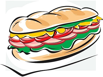 Sub Sandwich Clip Art-Sub Sandwich Clip Art-10