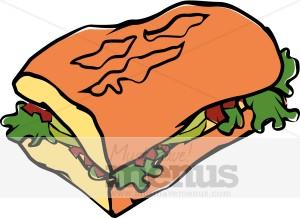 Sub Sandwich Clipart-Sub Sandwich Clipart-12
