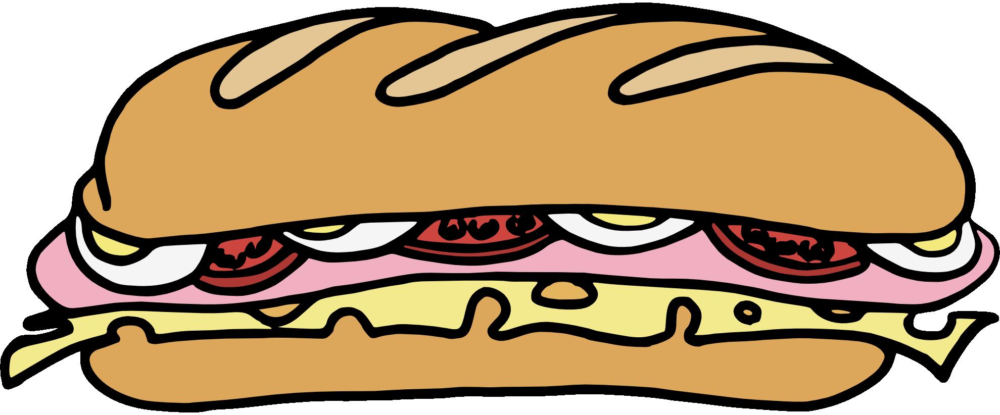 Submarine Sandwich. Sandwich Clip Art Fr-submarine sandwich. Sandwich clip art free clipart .-15