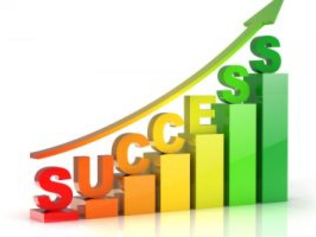Success Signpost Clip Art