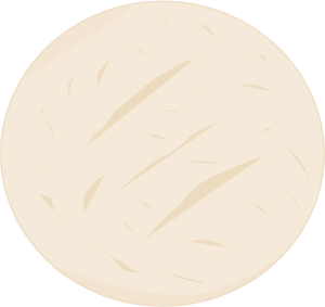 Sugar Cookie - clip art image of a sugar cookie.