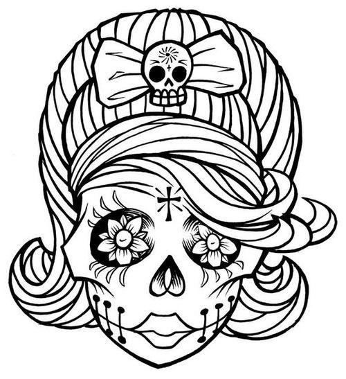 sugar skull girl | Tattoos that I love - ClipArt Best - ClipArt Best