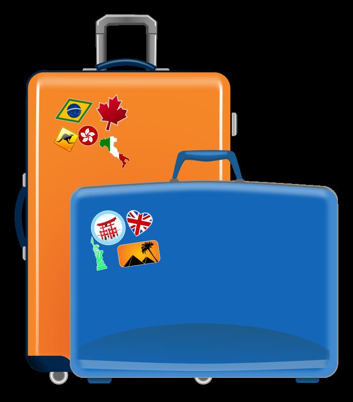 Suitcase Clip Art Images Free - Clipart Suitcase