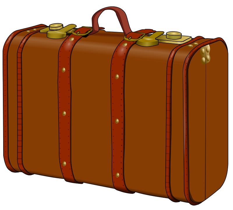 Suitcase Clip Art Images Free For Commercial Use