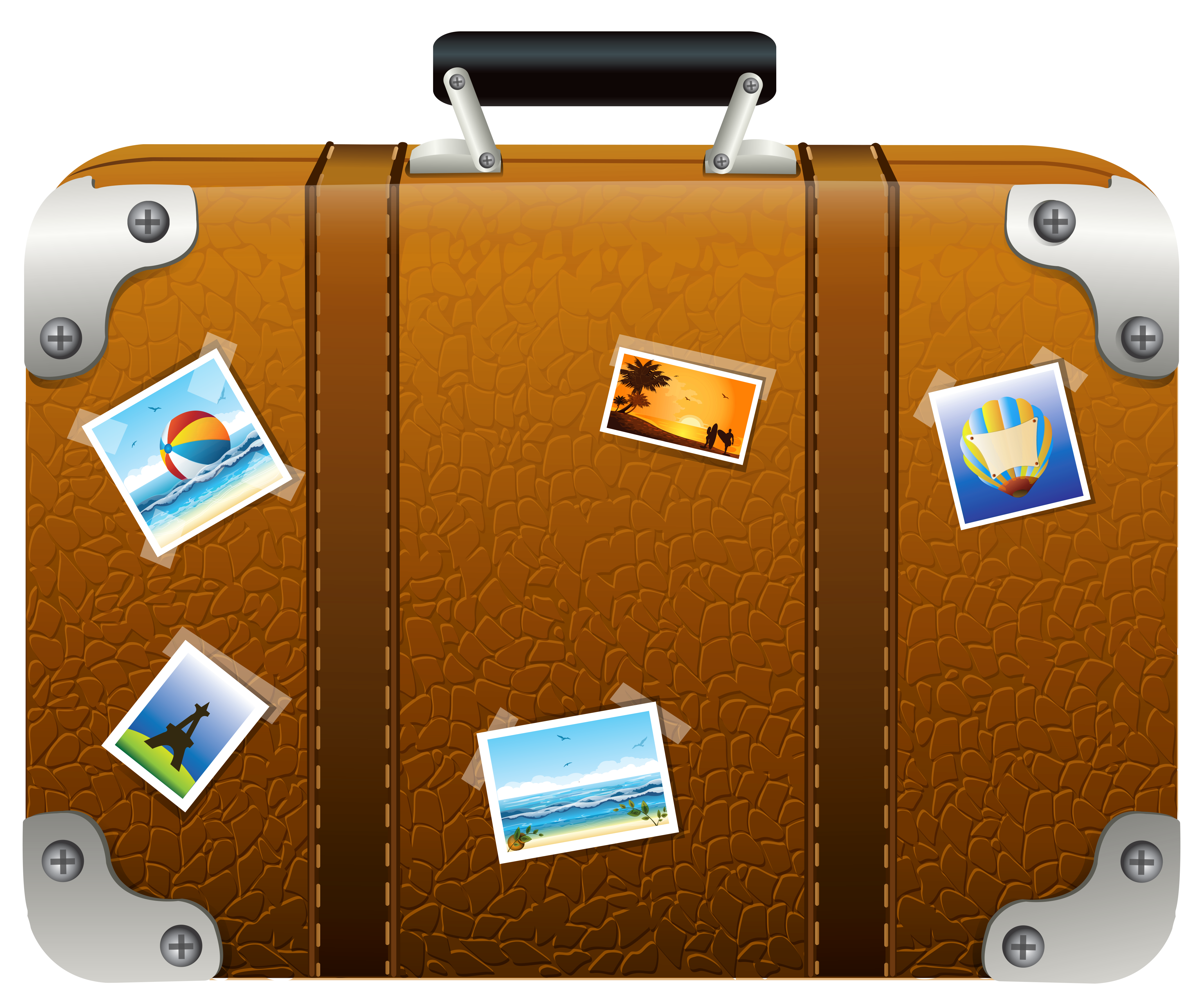 suitcase clipart free