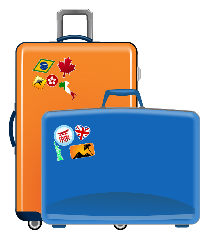 Suitcase Free Clipart #1