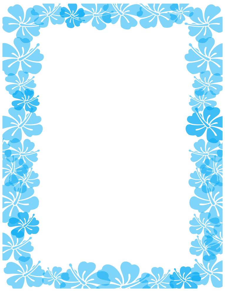 summer border clipart - Summer Border Clip Art