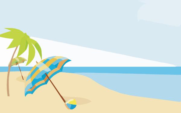 Summer Beach Wallpapers X Clip Art At Cl-Summer Beach Wallpapers X Clip Art At Clker Com Vector Clip Art-16