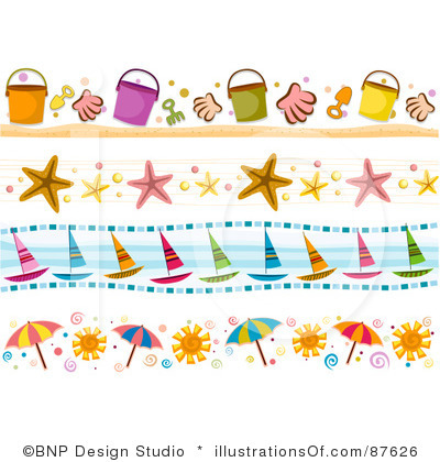 Summer Border Clipart Free .