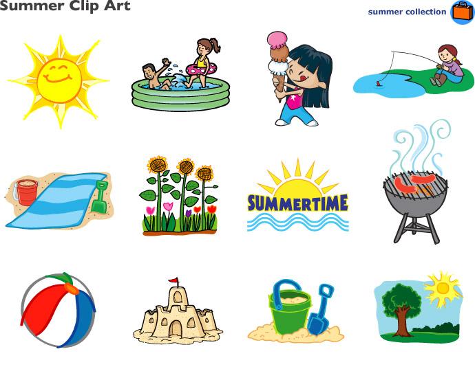 Summer Clip Art .