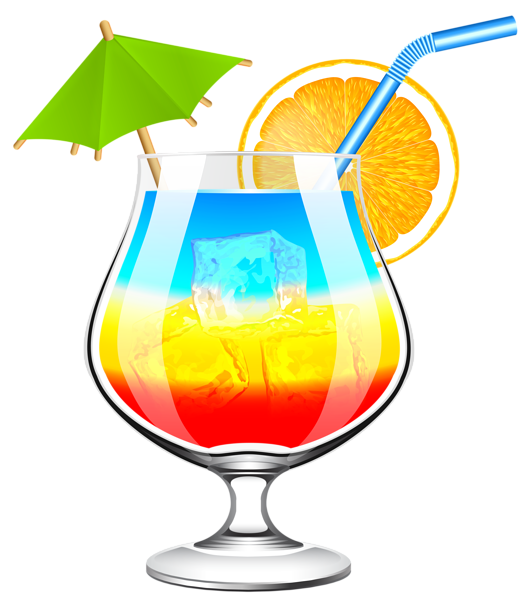 Summer Cocktail Transparent PNG Clip Art Image | Decorative Elements PNG | Pinterest | Summer cocktails, Art and Cocktails