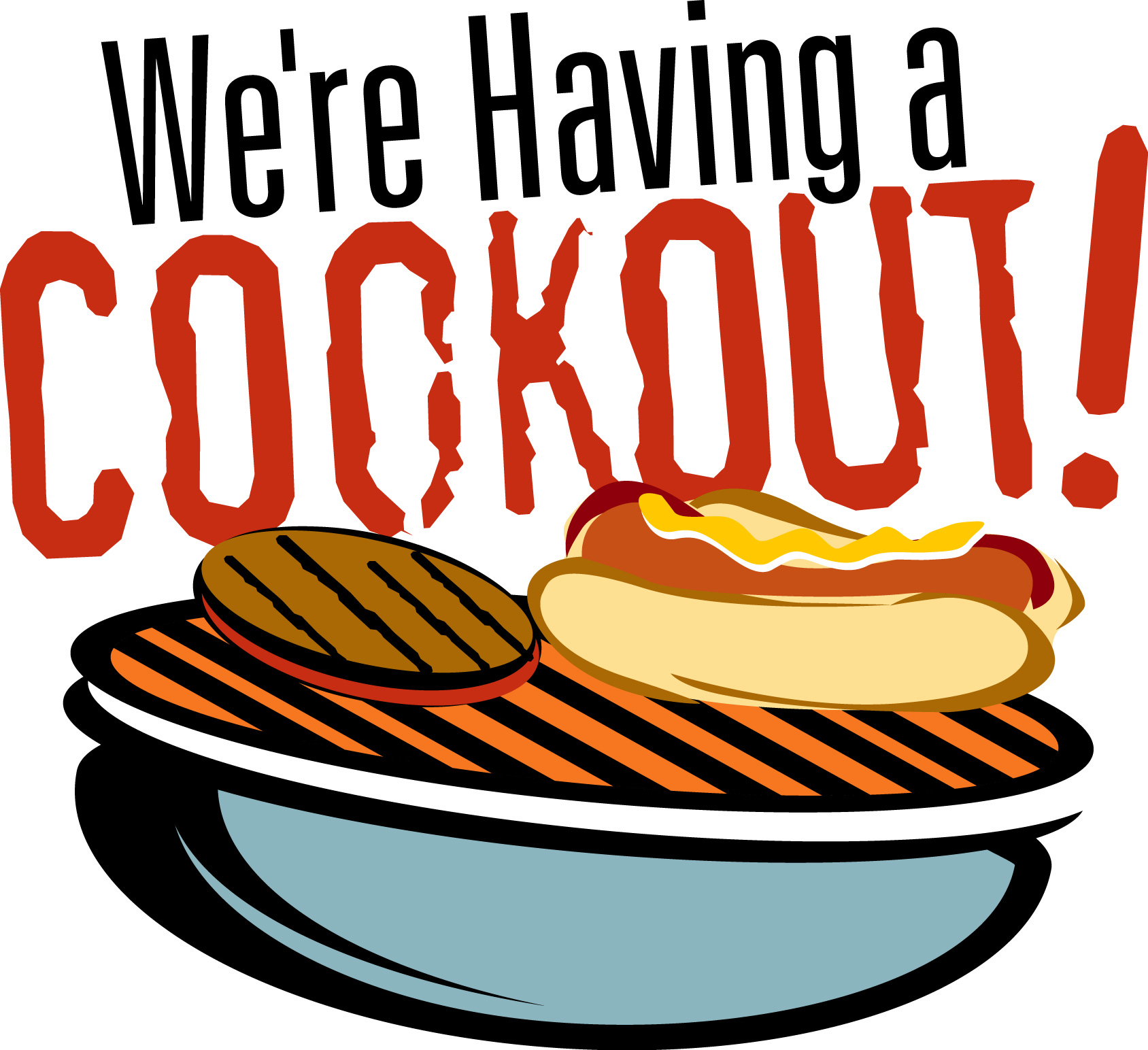 65 cook out clip art clipartlook
