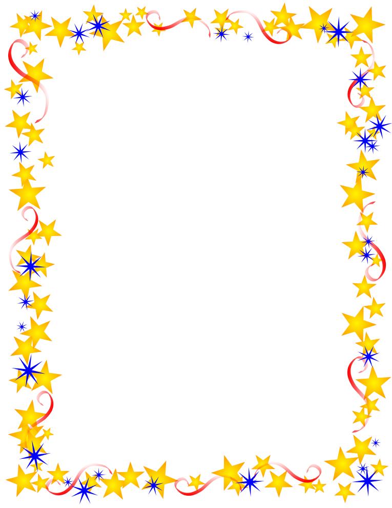 Summer Page Border Clipart Fr - Summer Border Clip Art